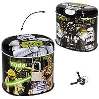 alles-meine.de GmbH Spardose / Schatztruhe - Star Wars / Darth Vader - mit Schlüssel - Stabile.. preisvergleich bei kinderzimmerdekopreise.eu