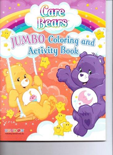 Care Bears Jumbo Coloring & Activity Book (64pgs) - Jumbo Care Bears