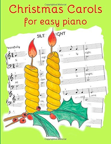 By Heather Milnes Christmas Carols for Easy Piano: Traditional Christmas favourites [Paperback]