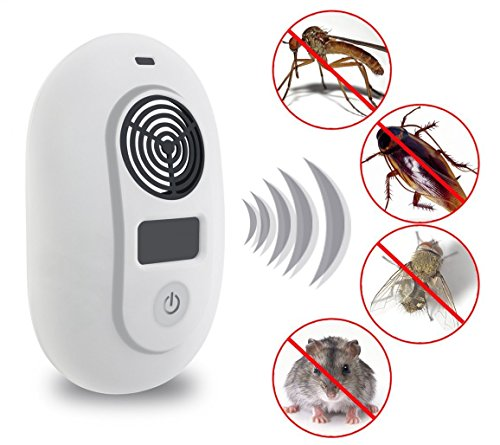 Image of Ultrasonic Plug In Control Repellent Device,Dare Color Pest Control Repeller for Mice, Rats, Roaches, Spiders, & Other Insects
