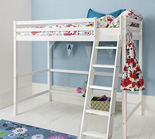 Cabin Bed High Sleeper in White kids Bed Texas Noa & Nani 51o UztmPCL