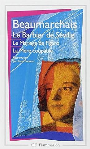Théâtre, Le Barbier de Séville, Le Mariage de Figaro, La