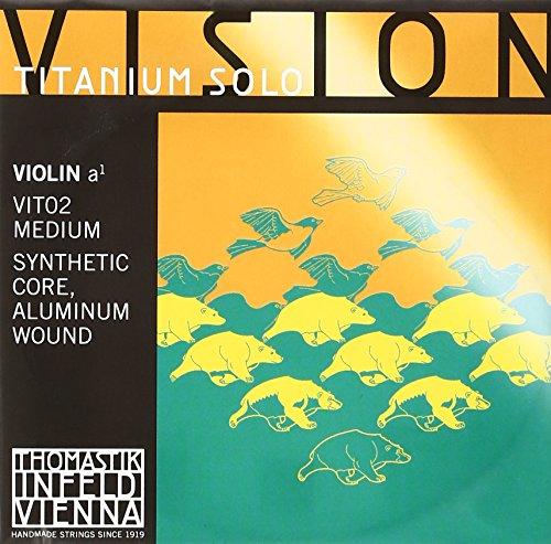 Thomastik Saiten Violine Vision Titanium Solo A mittel (Thomastik Vision Saiten Violine)