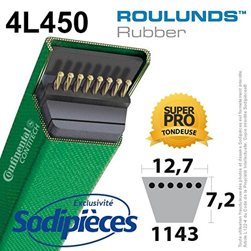 Cinture roulunds Continental 4l450 - 9,5 x 7,2 x 1143 mm