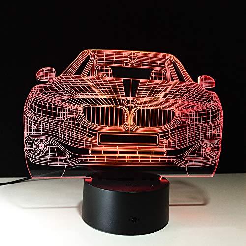 KangYD Lámpara Moderna De La Ilusión Del Coche 3D
