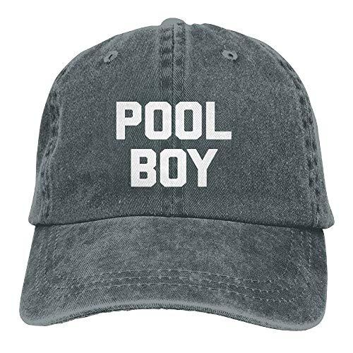 Paint0 Pool Boy Vintage Adjustable Denim Hat Baseball Caps for Adult (Washington Red Skins)