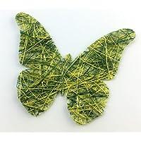 Grüner Schmetterling, Tischdeko, 10 Stück / Packung