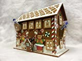 Premier Wooden Gingerbread Advent House Calendar