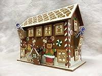 Premier Wooden Gingerbread Advent House Calendar