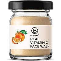 BRILLARE 100% Natural Vitamin C Face Wash for Skin Brightening, Reduces Pigmentation, Dark Spots, Contains Orange and…