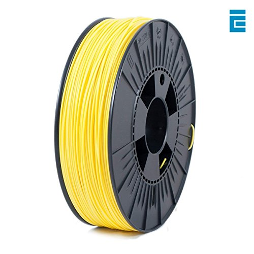 Price comparison product image ICE Filaments ICEFIL1PLA188 PLA filament,  1.75mm,  0.75 kg,  Yo-Yo Yellow