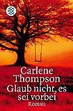 Glaub nicht, es sei vorbei: Krimi (Fischer Taschenbücher) - Carlene Thompson