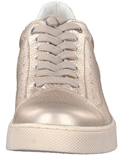 Tamaris Damen 23685 Sneaker Weiß (Champagne)