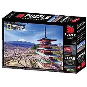 National Geographic National Geograhic - 10079 Puzzle 3D Tokyo - 500 Piezas