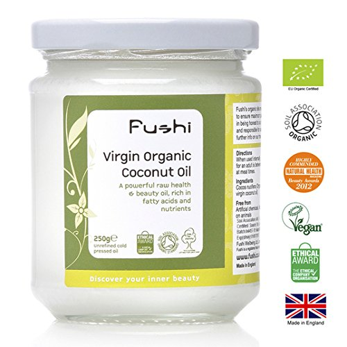Fushi Virgin Organic Coconut Oil Raw 250g