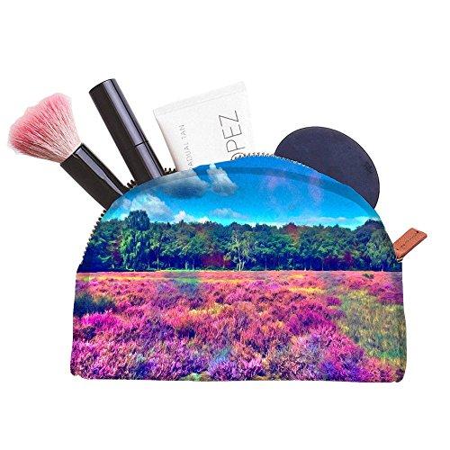 Snoogg Hippie Welt Multifunktional Leinwand Pen Tasche Bleistift Fall Make-Up Tasche für die Werkzeugtasche (Hippie Up Make)