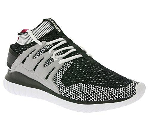 Adidas Sneaker Tubular Nova Pk S74917 Schwarz Weiß Bianco / Vintage Bianco / Nero