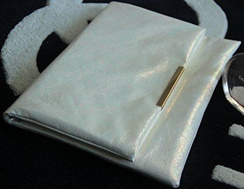 Zarapack - Borsetta senza manici donna (bianco)
