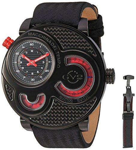 Gevril Reloj con movimiento cuarzo suizo Man Macchina Del Tempo 47 mm