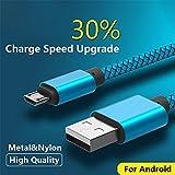 Best 3M Bluetooth para teléfonos celulares - Cable micro USB, YANSHG® trenzado durable micro USB Review