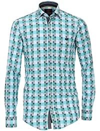 Casamoda Camisa Casual - Cuadrados - Clásico - Manga Larga - Para Hombre