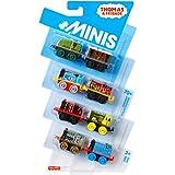 Pack minis de Thomas y sus amigos de 6/8 o 16 con estuche portátil - Relleno de relleno brillante...