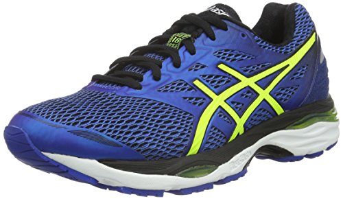asics-mens-gel-cumulus-18-training-shoes-blue-blue-yellow-9-uk