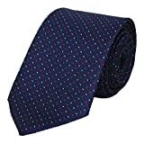 #9: Kanthlangot Self Design Microfibre Tie