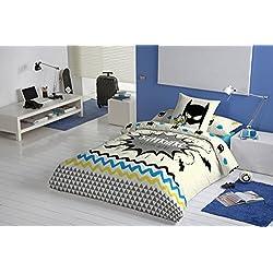 Iceberg funda nórdica reversible Superhero cama 90 cm