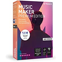 MAGIX Software GmbH - Music Maker 2019, Premium Edition