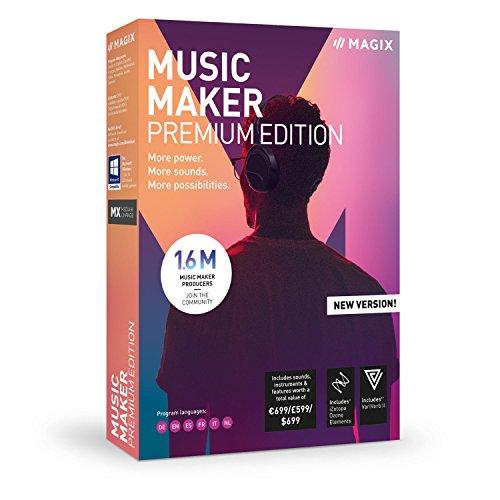 MAGIX Music Maker - 2019 Premium Edition - Unser beliebtestes Musikprogramm! Mehr Power. Mehr Loops. Mehr Möglichkeiten