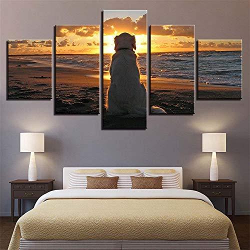 Comecong Dekorative Malerei,Einfache Multi-Mural Inkjet Strand Rock meerblick Zimmer Hause kreative Handwerk gemälde 10 Kern 10x15cmx2 10x20cmx2 10x25cmx1