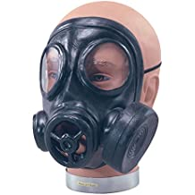NEW RUBBER GAS MASK 1940S WAR GIMP FANCY DRESS (máscara/careta)