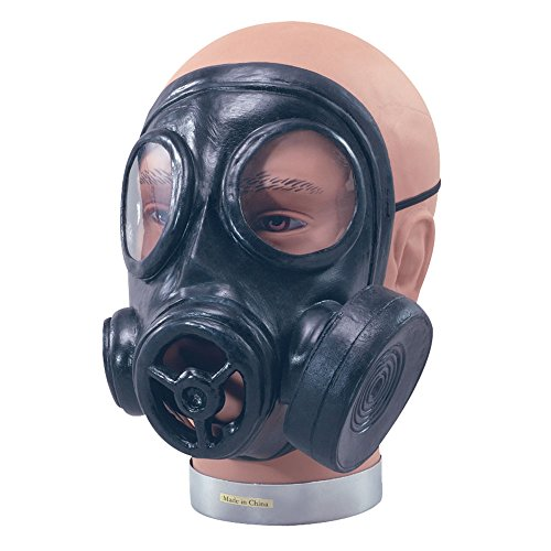 Bristol Novelty ba582 Gas Maske Gummi, One ()