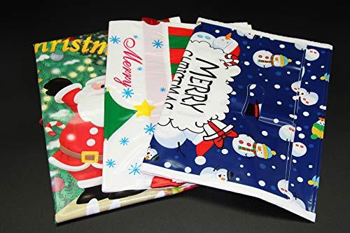 Demino Weihnachten Beutel der Schneemann-Rotwild-Muster-Geschenk-Beutel Kinder-Kostüm-Party-Bevorzugungen Supplies 5 (Kostüm Muster Kinder)