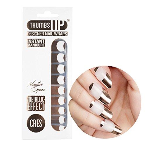 ThumbsUp Nails - Cres Nagelfolien 20 Folien / Packung