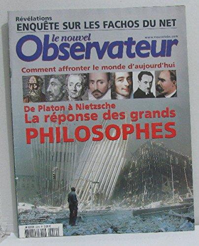 Le nouvelle observateur n°2019 du 17 au 23 juillet 2003 de platon à nietzsche la réponse des grands philosophes