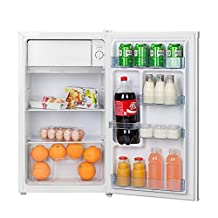 Hoover 120 Liters Free standing Single Door Refrigerator, Silver - HSD92-S, 1 Year Warranty