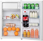 Hoover 120 Liters Free standing Single Door Refrigerator , Best Compact / Small size Fridge for Mini Bar , Roo