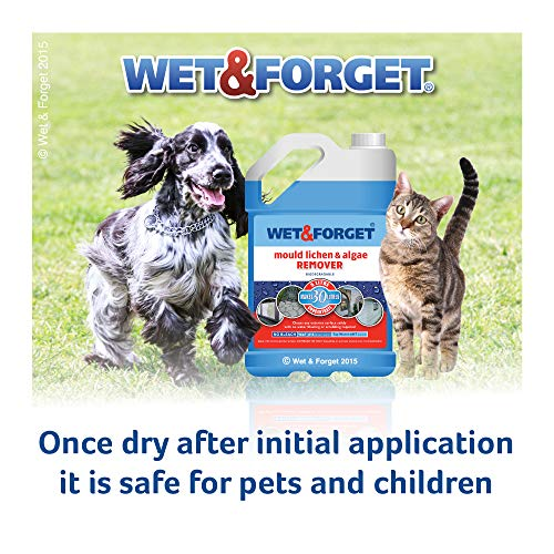 Wet & Forget - Moss Mould Lichen & Algae Remover (5 Litre)