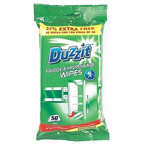 100 Fridge & Microwave Wipes 2 Packs of 50