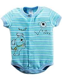 Baby Body kurzarm 'Hundi braun' | Babybodies kurzarm | Babybody