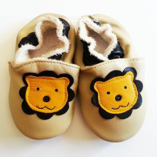 Igilli, Jungen Babyschuhe - Krabbelschuhe & Puschen  Beige / Noir / Jaune 18-24 Monate