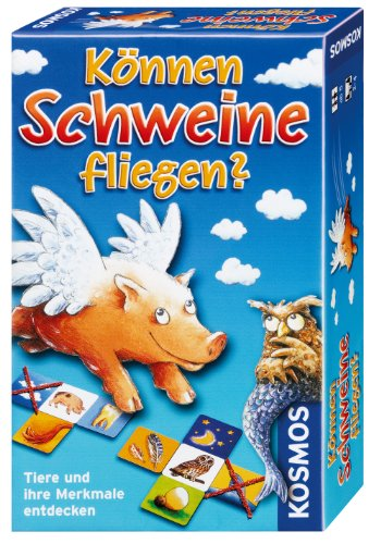 Preisvergleich Produktbild Kosmos 699130 - Tierspiel Können Schweine fliegen