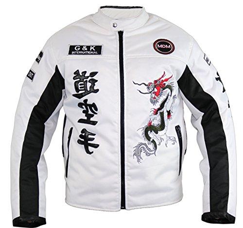 Motorrad Textil Jacke mit Protektoren