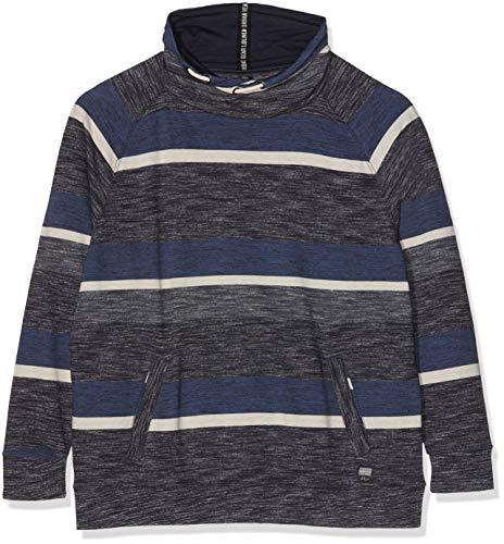 s.Oliver Big Size Herren 15.809.41.3480 Sweatshirt, Blau (Night Blue 59g0), XXXX-Large Big Tall Herren-sweatshirts
