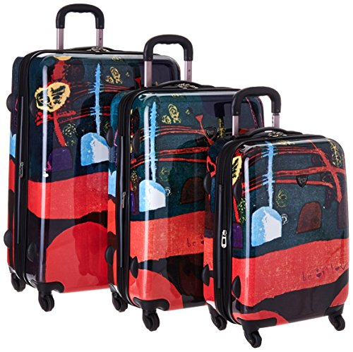 curtis-publishing-by-travelers-3-piece-abs-luggage-set-with-360-wheel-system-happy-one-size