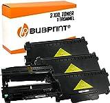 Bubprint 3 Toner & Trommel kompatibel für Brother TN-2320 DR-2300 für DCP-L2520DW HL-L2300D HL-L2340DW HL-L2360DW HL-L2380DW MFC-L2700DW MFC-L2740DW