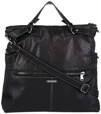 Esprit  Esprit Tasche, sacs bandoulière femme - Noir - Schwarz (BLACK 001), 38x38x10 cm (B x H x T) EU