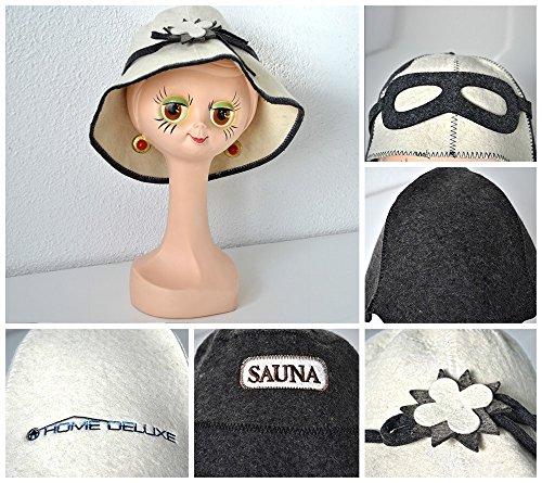 Abdeckung Hut, Mütze, (Home Deluxe | Saunahut | Modell Blume | verschiedene Modelle)